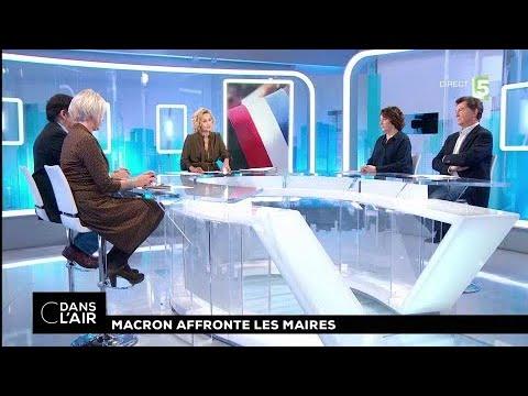 Macron affronte les maires #cdanslair 23.11.2017