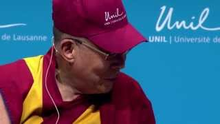 The Dalai Lama talks about dying at the University of Lausanne - Part 2 [VO]