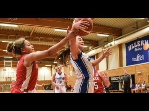 NM-kvinner 06.04.2018 Kvartfinale Ullern-Sandvika, Bærum Idrettspark
