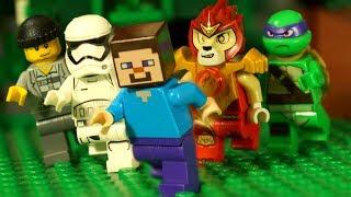 КокаТуб и ЛЕГО НУБик Майнкрафт и Ниндзяго Мультики для Детей Lego Minecraft