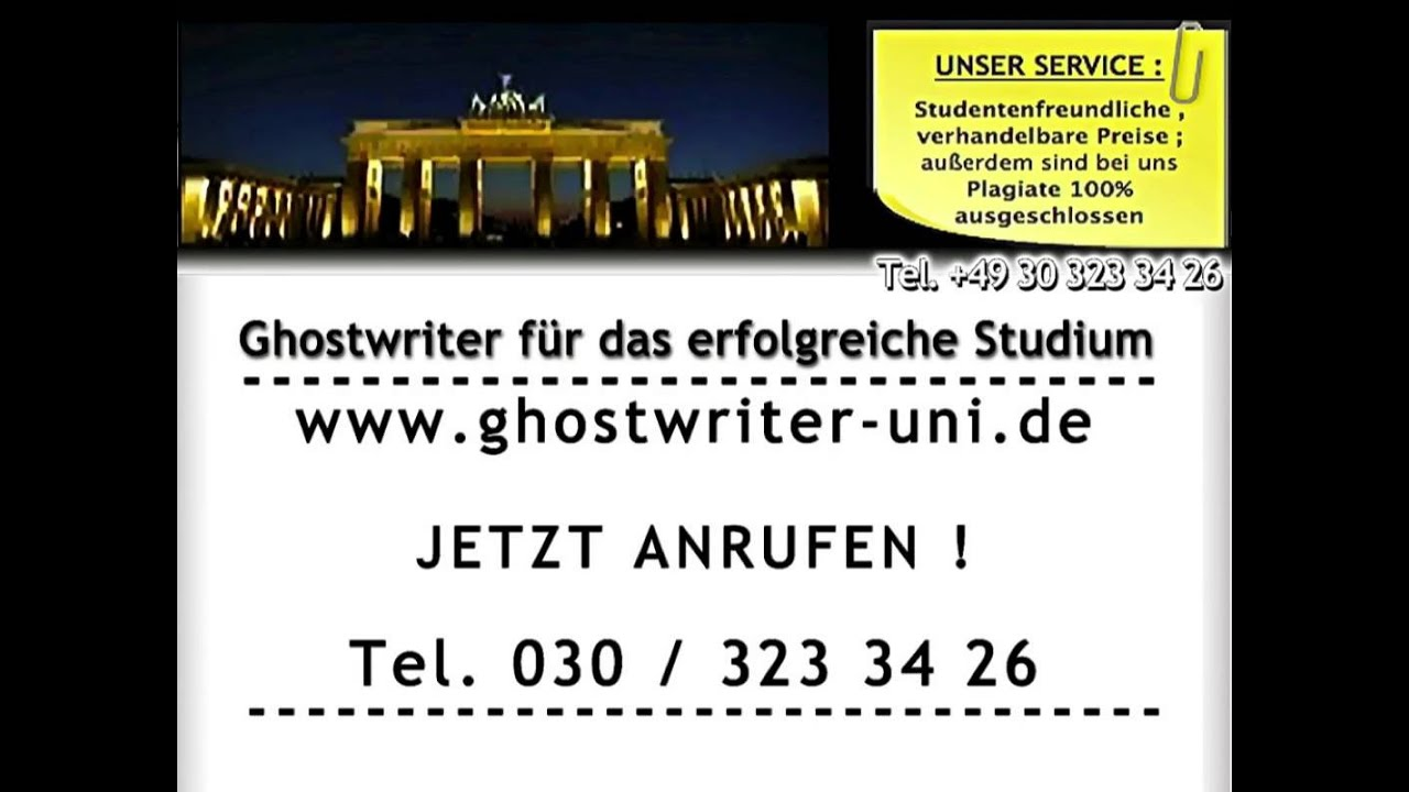 Ghostwriter service now