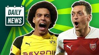 Verlässt Mesut Özil Arsenal London? Strafe für den HSV! 1860 prankt den FCB! Bayern wollte Witsel!