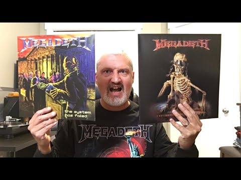 Megadeth : Unboxing Of The 2019 Reissues Of The World Needs A Hero & The System Has Failed 🤘