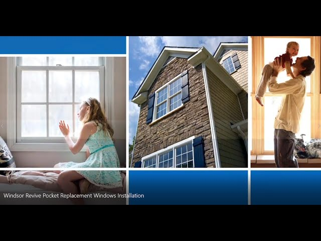 Windsor Revive Pocket Replacement Windows Installation