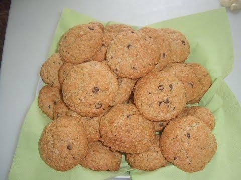 Рецепт: Печенье из овсяных хлопьев на