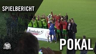 SV Wehen Wiesbaden - Kickers Offenbach (Finale, Hessenpokal 2016) - Spielbericht | MAINKICK.TV