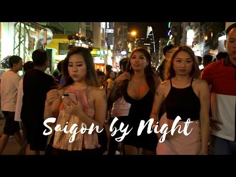 This is Saigon! Welcome to Ho Chi Minh by night (Vietnam)