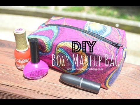 Diy Boxy Makeup Bag Highly Requested