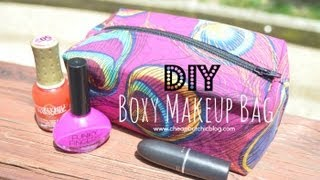 DIY Boxy Makeup Bag (Highly Requested) Thumbnail