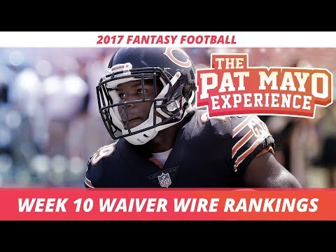 2017 Fantasy Football - Week 10 Waiver Wire Rankings, Injuries, Recap + MORE