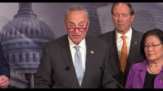 WATCH LIVE: Schumer, Senate Democrats hold news conference as Trump impeachment trial continues