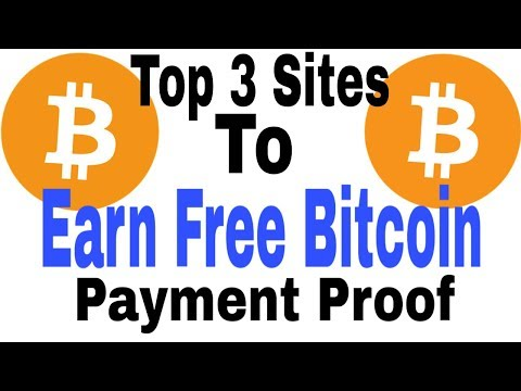 Top 3 Sites To Earn Bitcoin |  How To Earn Money From Bitcoin In 2019