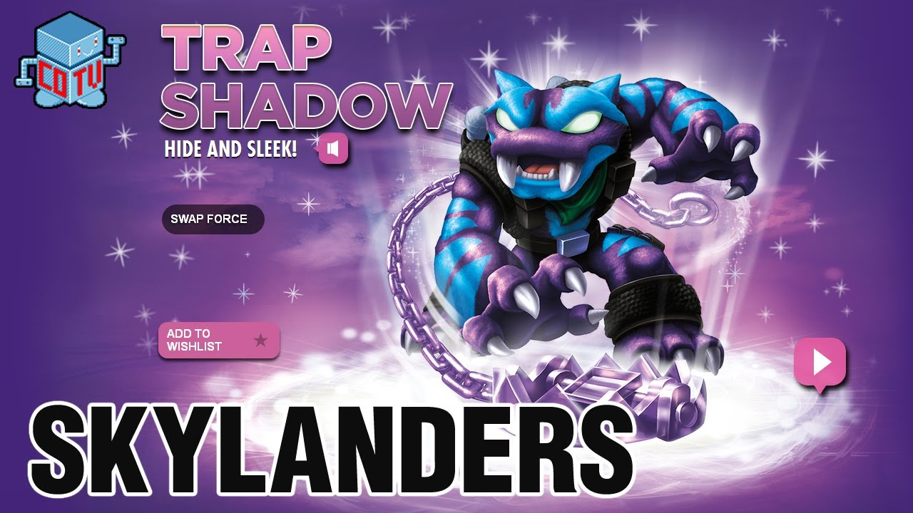 Uncategorized Skylanders Swap Force.com skylanders swap force trap shadow combinations youtube