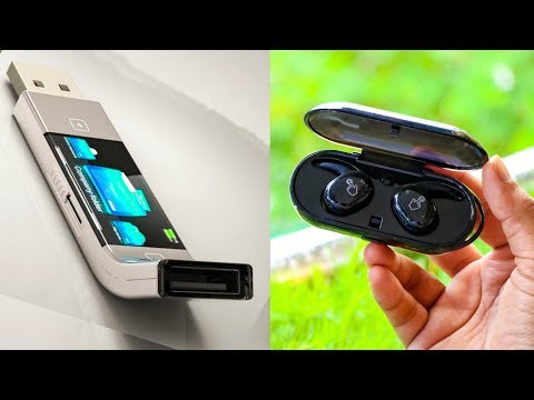 5 AMAZING HiTECH GADGETS INVENTION ▶ Touch USB Drive Wireless Earbuds You Can Buy in Online Store