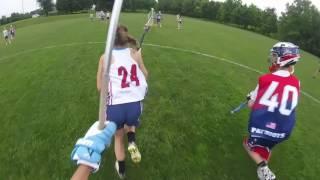freedom lacrosse boys vs girls lacrosse game