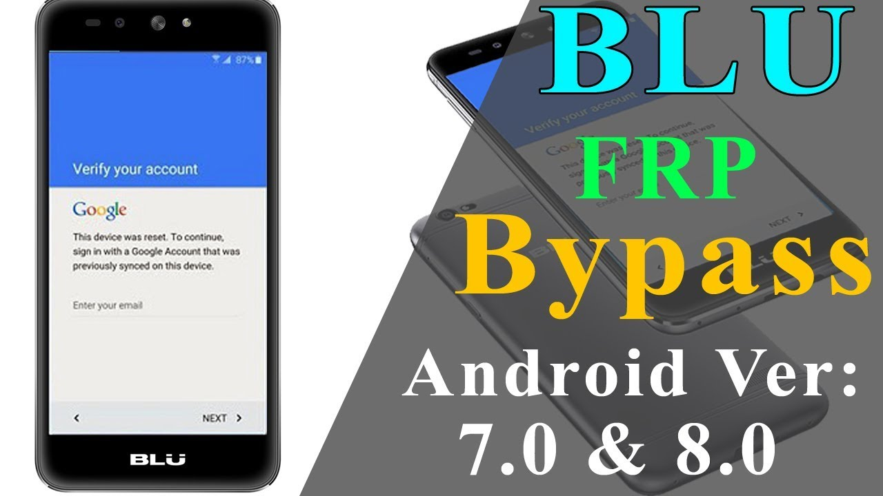 All BLU Google Account Bypass (FRP) New Method 2019 by N R Tech Solution