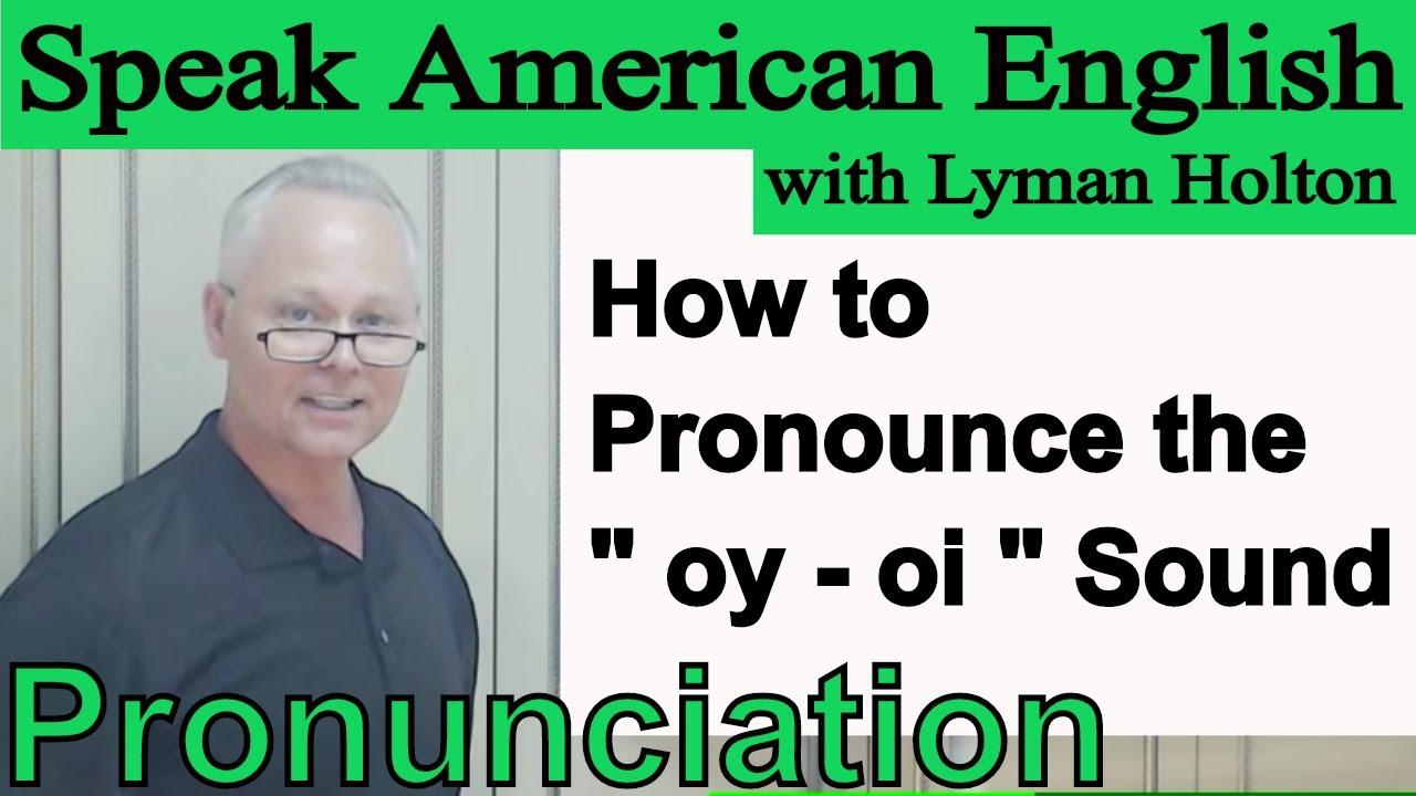 how to speak english pronunciation