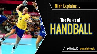 The Rules of Handball (Team Handball or Olympic Handball) - EXPLAINED!