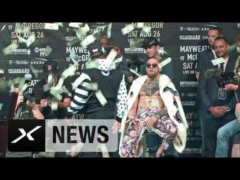 Boxen: Demütigung pur! Conor McGregor vs. Floyd Mayweather | UFC | New York