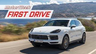 2019 Porsche Cayenne | First Drive