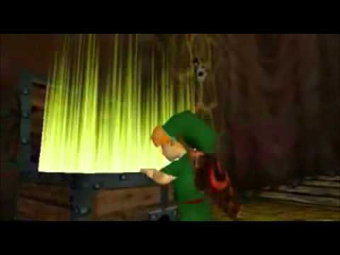 Legend of Zelda - Chest Opening and Getting Item.