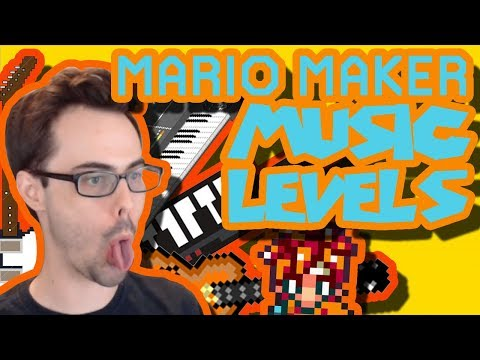 Mario Maker - In The Hall of the Monty King (Epic Musical Bossfight) & More Music Levels!