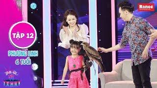 Biệt Tài Tí Hon 2|Tập 12: Anh Đức, Hari Won phấn khích với cô bé huấn luyện đại bàng từ lúc 3 tuổi