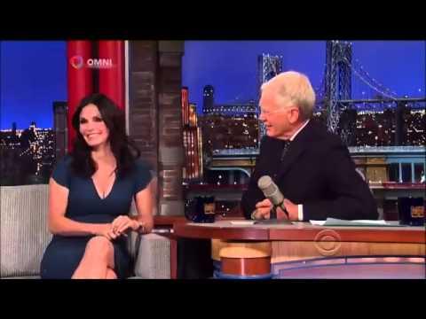 Courteney Cox on David Letterman  2014 Full Interview