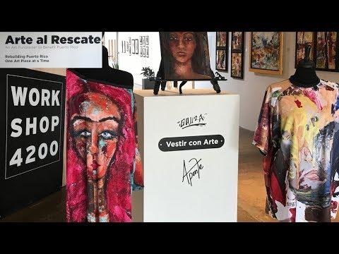 Workshop 4200 -Artist Supports Puerto Rico (Alfredo Bauza)