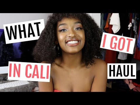 LA HAUL ft. Brandy Melville, Urban Outfitters, & More