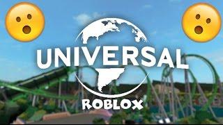 ROBLOX [FR] - Je Visite Universal Studios - Universal Studios Roblox [1/2]