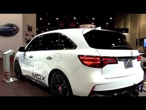 2017 Acura Mdx Towing Gtx Fullsys Features New Design Exterior Interior First Impression