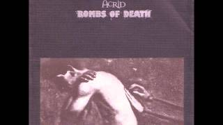 Bombs Of Death / Acrid - Split (1997 - No Idea Records)