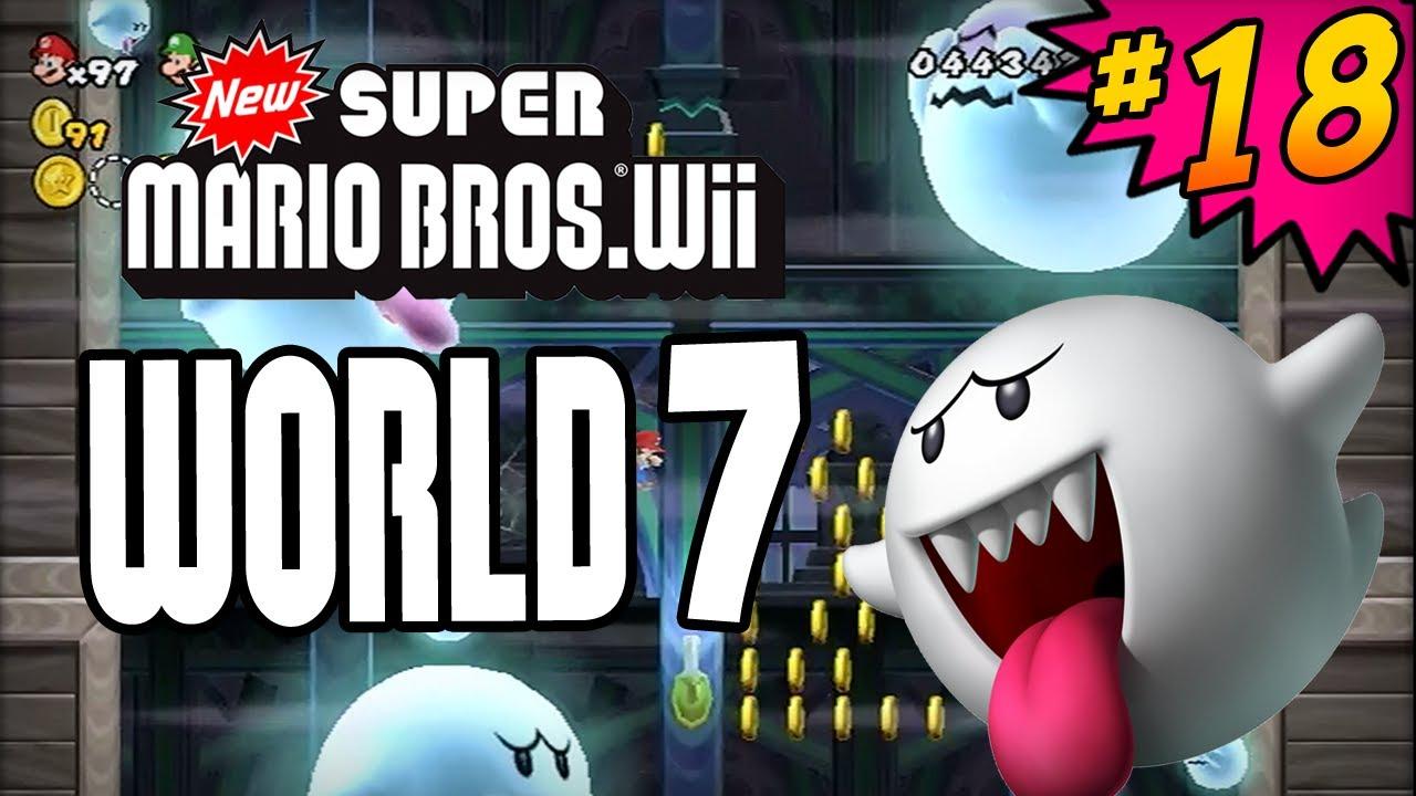 new super mario bros wii world 7 all star coins