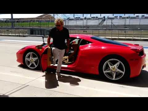 FunnyFerrariGuy Interviews - Sammy Hagar - Red 488 Italia V8