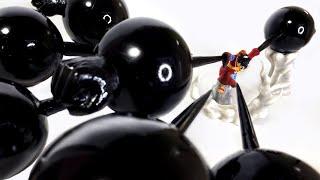 """ゴムゴムの象銃乱打を使うルフィのフィギュアを作ってみた/ONEPIECE Made the Luffy's """"GUM-GUM ELEPHANT GATLING"""" Figu"""