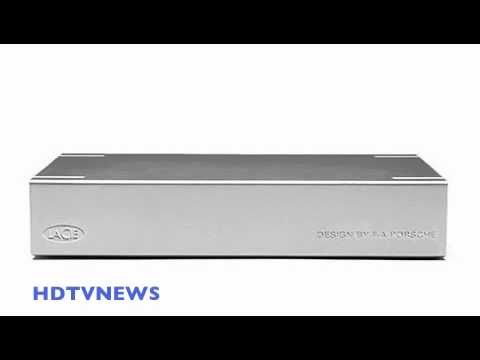 LACIE HARD DRIVE DESIGN by the world famous F.A. PORSCHE - YouTube