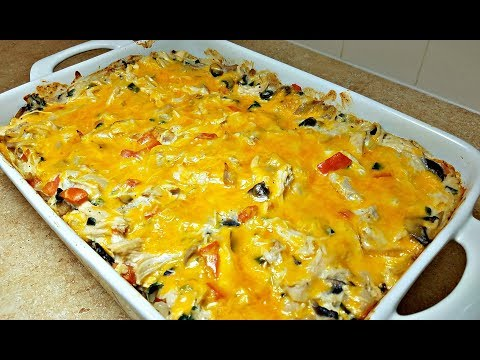 King Ranch Casserole Recipe | Casserole Recipe Ideas | Chicken Casserole Recipe