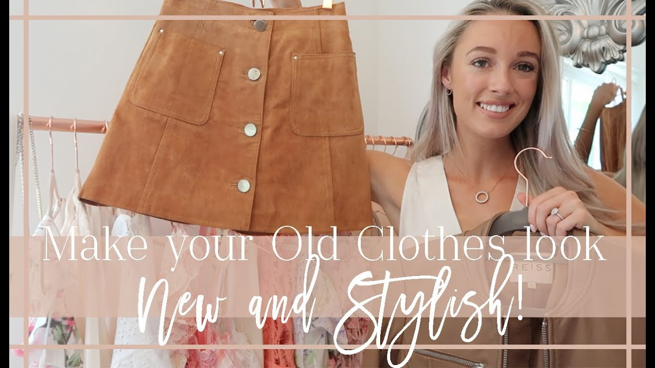 [VIDEO] - HOW TO MAKE YOUR OLD CLOTHES LOOK NEW & STYLISH  // Fashion Mumblr 4