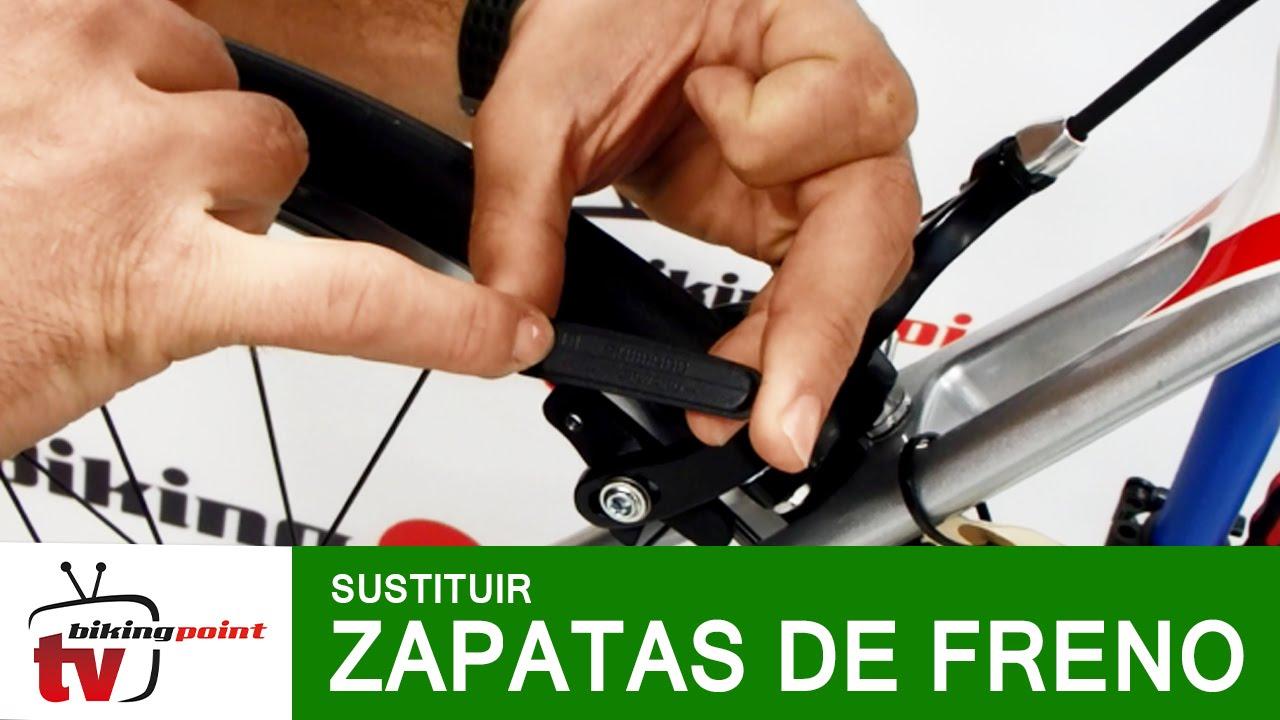 Zapatas de freno bicicleta