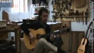 01_Paco Serrano tocando guitarra de José Rodríguez