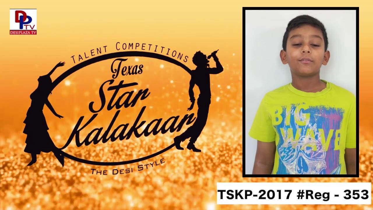 Reg# TSK2017P353 - Texas Star Kalakaar 2017
