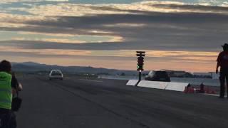 Audi Coupé 5Zyl 20V Turbo 1/4meile 10.4@235km/h