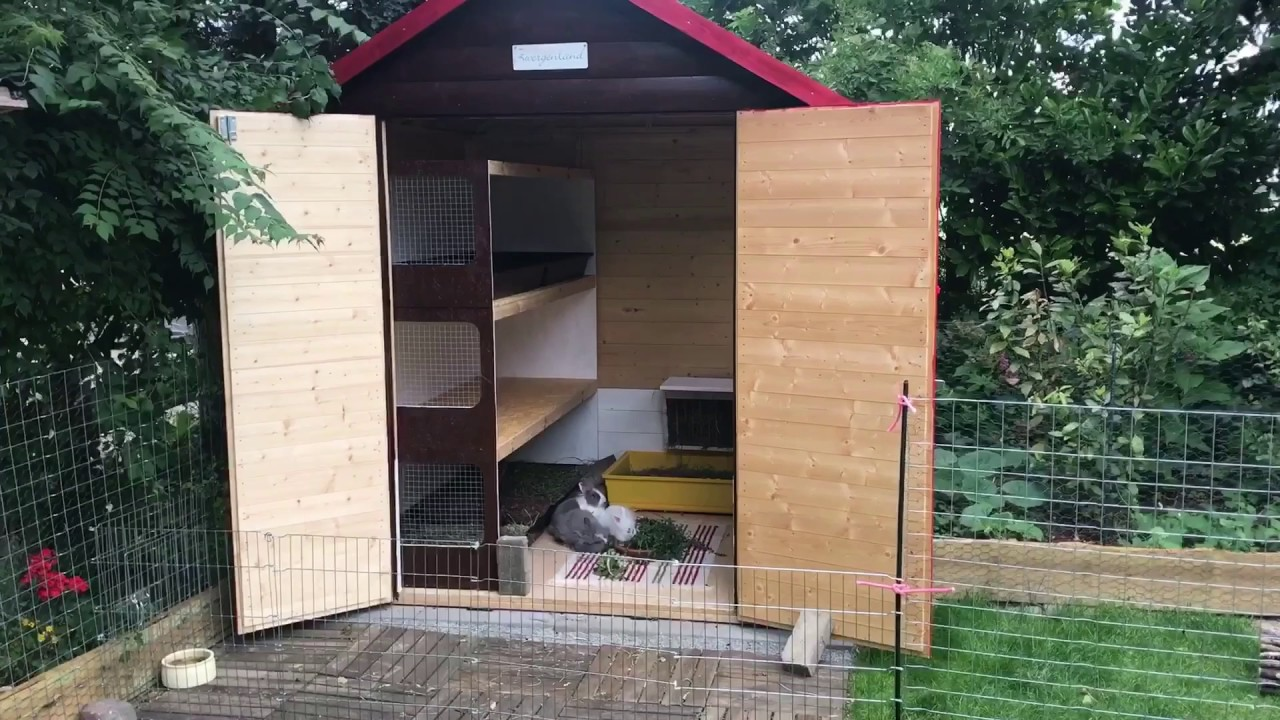 Kaninchen Hutte Bauprojekt Update Youtube