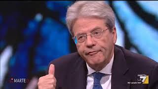 L'intervista all'ex presidente del Consiglio Paolo Gentiloni