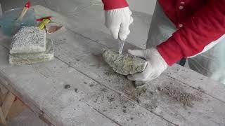 видео Ремонт бетонного пола