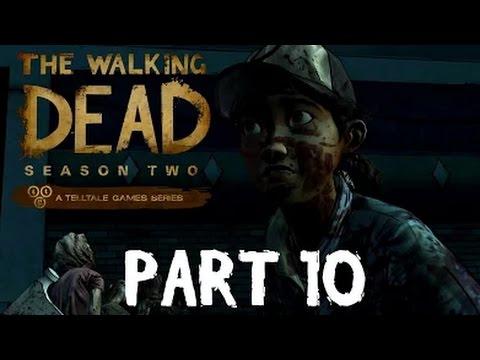 The Walking Dead: Season Two - PART 10 | EPISODE 3 ENDING - Zombie Guts!