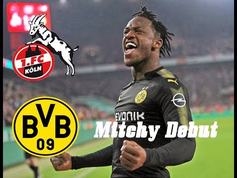 FC Koln vs. Borussia Dortmund 2-3 Goals and Batshuayi Debut 2017-18 Highlights
