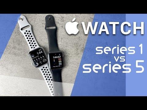 Apple Watch Series 1 Vs Series 5