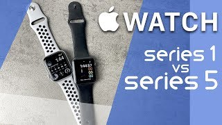 Apple Watch Series 1 vs Series 5